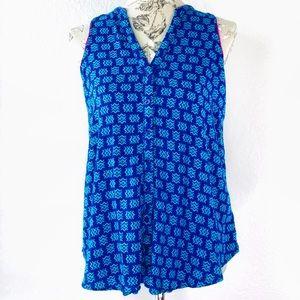 Maeve Anthropologie sleeveless blouse